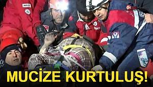 Elazığ'da Mucize Kurtuluş! Depremden Saatler Sonra...