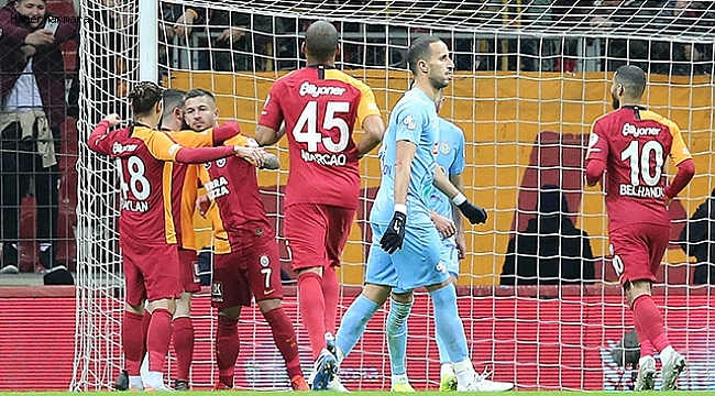Galatasaray 2 - 1 Çaykur Rizespor