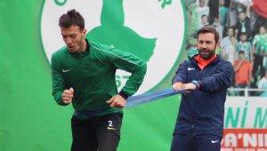 Giresunspor'da Hatay maçı öncesi Numan Çürüksu şoku