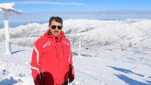 Hafta sonu kayak pistleri doldu taştı