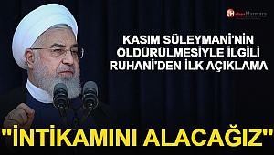 İran Cumhurbaşkanı Ruhani'den Açıklama: 'General Süleymani'nin İntikamını Alacağız'