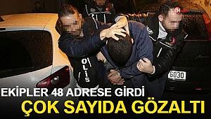 İstanbul'da 5 İlçede Eş zamanlı Operasyon! Gözaltılar Var