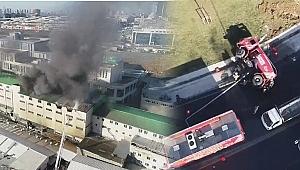İstanbul'da Korkutan Yangın! Ekipler Bölgede...