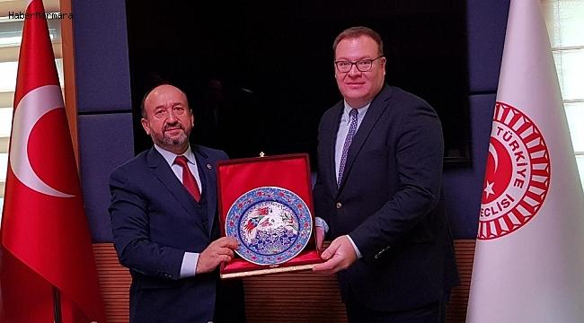 Kavuncu, Büyükelçi Kastrotoviç'i kabul etti