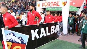 Kayserispor - MKE Ankaragücü maçı öncesi saygı duruşu