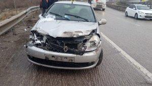 Kırıkkale'de trafik kazaları: 1'i çocuk 4 yaralı