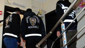 Kocaeli'de çeşitli suçlardan aranan 71 kişi yakalandı