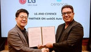LG, AI Teknolojisine Sahip Bağlantılı Araç Platformu İçin Cerence ile İşbirliğine Gitti