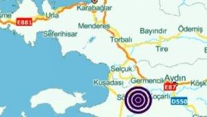 Manisa'daki depremler Aydın'da da hissedildi