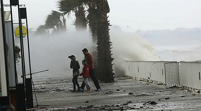 Meteoroloji'den Marmara İçin Fırtına Uyarısı