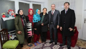Mülteci ailelere ziyaret