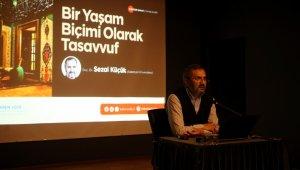 OSM'de 'Bir Yaşam Biçimi Olarak Tasavvuf' isimli söyleşi gerçekleştirdi