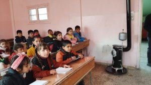 Rasulayn'da ders başı yapan öğrenciler, okullara dağıtılan sobalarla ısındı