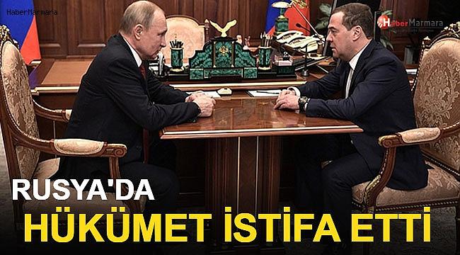 Rusya'da Hükümet İstifa Etti