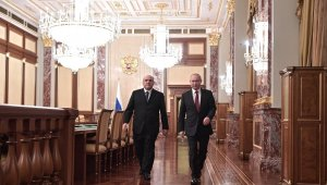 Rusya'nın yeni Başbakanı Mişustin, Putin'e yeni kabineyi tanıttı