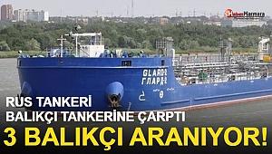 Sis Faciası! Tanker Balıkçı Teknesine Çarptı