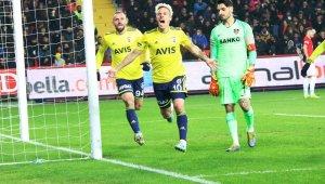Süper Lig: Gaziantep FK: 0 - Fenerbahçe: 2
