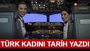 THY Kadın Pilot Rekoru Kırdı