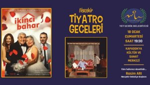 Tiyatro geceleri, 'İkinci Bahar' ile devam ediyor