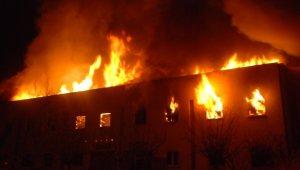 Tokat Yazmacılar Sitesi'ndeki yangın kontrol altına alındı
