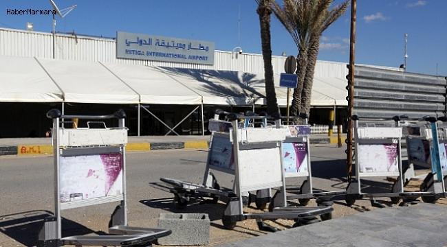Trablus'ta Havalimanına Roket Saldırısı! Uçuşlar Durduruldu