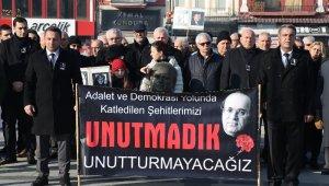 Uğur Mumcu ölümünün 27'inci yılında Edirne'de anıldı