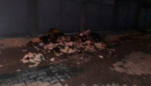 Yangında mahsur kalan anne ve çocuklarını itfaiye kurtardı