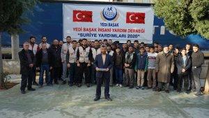 Yedi Başak'tan İdlip'e yardım