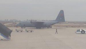 400 komanda askeri uçakla Hatay'a geldi