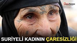80 Yaşındaki Suriyeli Kadının Çaresizliği