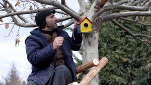 """Altınköy'de kuşlar """"ev""""lendi"""