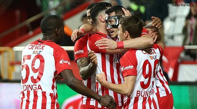 Antalyaspor  3 - 1 Kasımpaşa