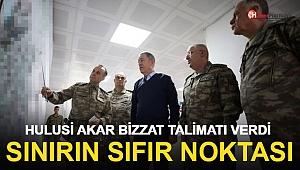 Bakan Akar ve Kuvvet komutanları Suriye Sınırında Komuta Merkezinde