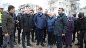 """Bakan Kurum: """"Bir yıl içerisinde projelerimizi tamamlayıp Elazığ'ımızı sıkıntıdan kurtaracağız"""""""