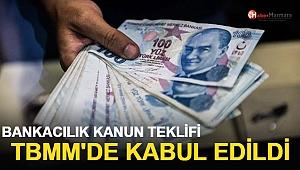 Bankacılık Kanun Teklifi TBMM'de Kabul Edildi