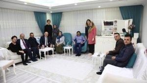 Başkan Bıyık, El Bab şehidinin ailesini unutmadı