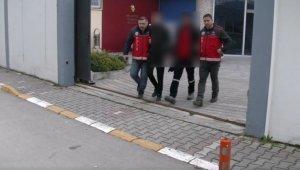 Büfeden 30 bin liralık alkol ve sigara çalan hırsızlar yakalandı