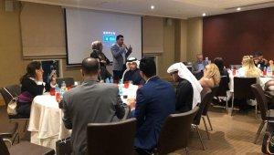 Bursalı turizmcilerin Kuveyt çıkarması