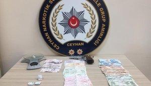 Ceyhan'da uyuşturucu operasyonunda 8 gözaltı