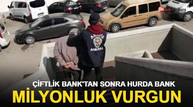 Çiftlik Bank'tan Sonra Hurda Bank! 2.5 Milyon TL'lik Vurgun