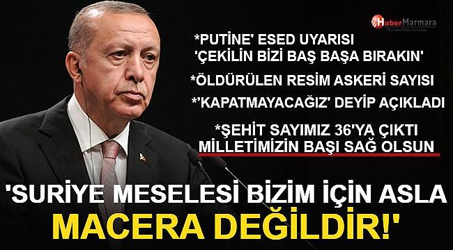 Cumhurbaşkanı Erdoğan'dan Önemli Açıklamalar 'Kapatmayacağız'