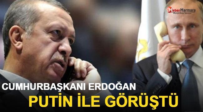 Cumhurbaşkanı Erdoğan, Putin İle Görüştü!