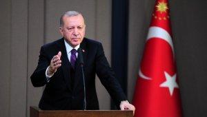 """Cumhurbaşkanı Erdoğan: """"5 Mart'ta en kötü ihtimalle Putin ile bir araya gelmemiz söz konusu"""""""