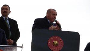"""Cumhurbaşkanı Erdoğan'dan tepki: """"Yalova Belediyesinde kurduğu rüşvet çiftliğinden tek kelime bile bahsetmiyor"""""""