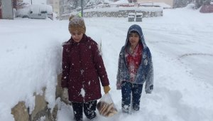Darende'de kar hayatı olumsuz etkiliyor