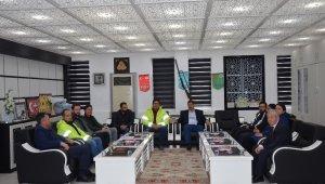 Demirci'de doğalgaz çalışmaları başladı