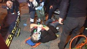 Diyarbakır'da iki kaza: 4'ü ağır 8 yaralı
