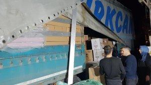 Düzce'den İdlib'e yardım tırı yola çıktı