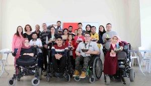 Engelli bireylerin teraryum heyecanı