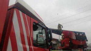 Esenyurt'ta sanayi sitesinde yangın paniği